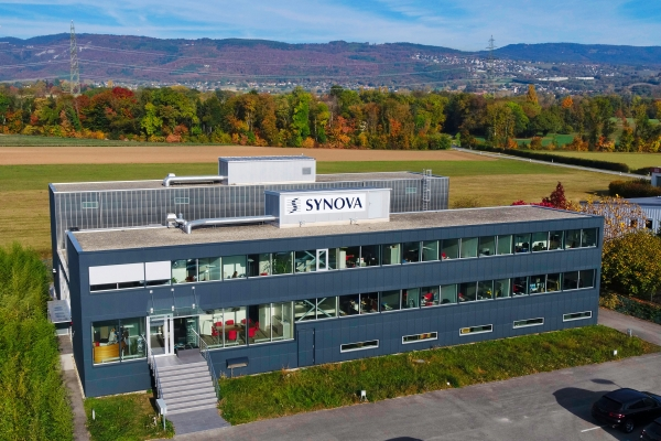 New Synova Corporate Headquarters in Duillier
