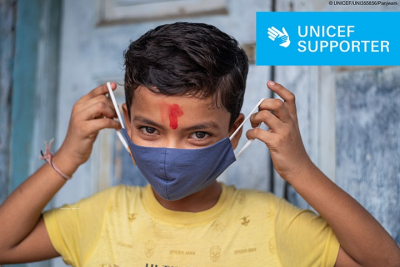Emergency situation in India - Synova supports UNICEF